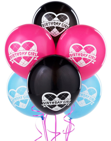 Set globos Monster High