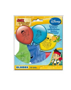 Set de globos Jake y los piratas de Nunca Jamás