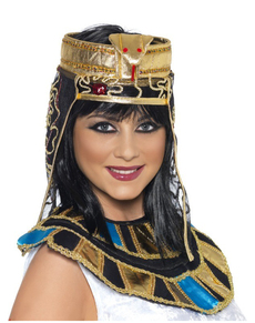 Tocado egipcio para la cabeza