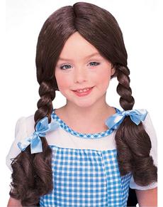 Peluca de Dorothy para niña