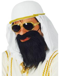 Barba negra de jeque