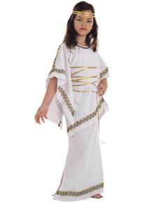 Disfraz de griega niña