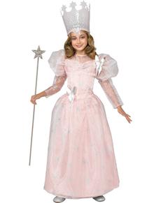 Disfraz de Glinda Bruja Buena El Mago de Oz para niña