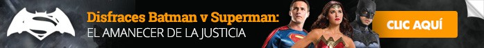 Disfraces Batman vs Superman: El amanecer de la justicia.