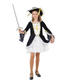 Disfraz de mosquetera niña