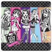 Kit de platos de cena Monster High