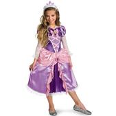 Disfraz de Rapunzel para niña platinum