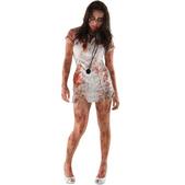 Disfraz de Walking Dead: enfermera zombie