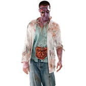 Disfraz de Walking Dead: doctor zombie