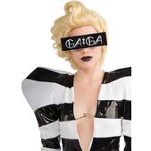 Gafas negras con logo de Lady Gaga