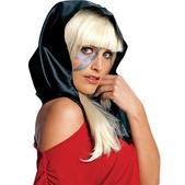 Foulard noir Lady Gaga