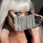 Gafas con cadenas Lady Gaga