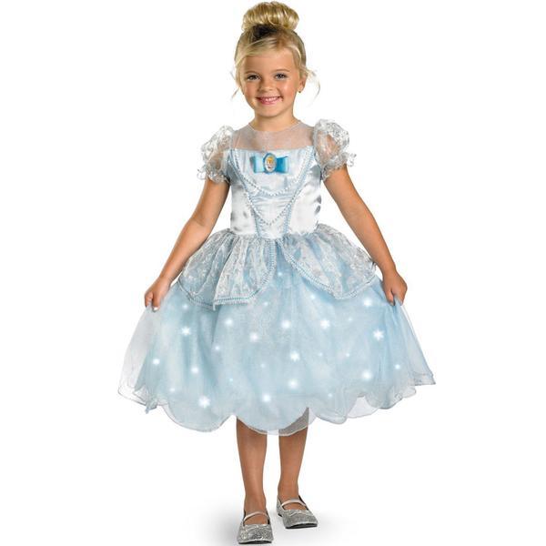 Disfraz de La Cenicienta luminoso para niña: comprar online