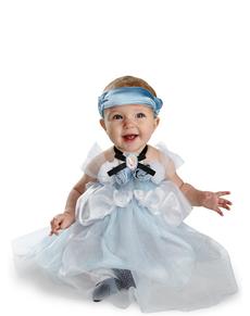 Disfraz de La Cenicienta deluxe para bebé