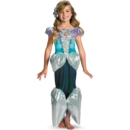 Disfraz de Ariel La Sirenita