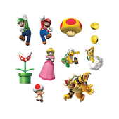 Pegatinas de pared Super Mario Bros
