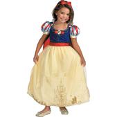 Disfraz de Blancanieves y los 7 enanitos Prestige niña