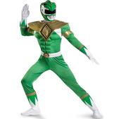 Disfraz de Power Rangers Verde musculoso
