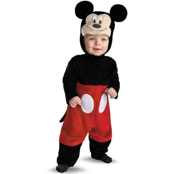 Disfraz de Mickey Mouse Deluxe para bebé: comprar online