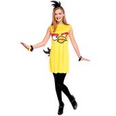 Fato de Angry Birds Amarelo Vestido Infantil