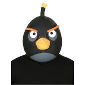 Máscara de Angry Birds Preto de látex Adulto