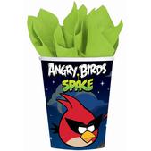 Conjunto de copos de papel Angry Birds