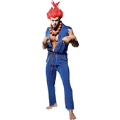 Disfraz de Akuma Street Fighter deluxe