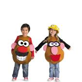 Disfraz de Mr y Mrs Potato infantil
