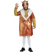Disfraz del Rey de Burger King Deluxe
