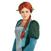 Peluca Princesa Fiona Adulto
