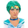 Perruque de guerrier Mercure Sailor Moon