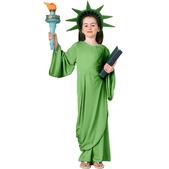 Disfraz de Estatua de la Libertad infantil