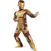 Déguisement Iron Man 3 musclé pour enfant