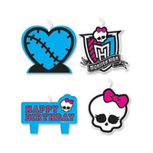 Velas cumpleaños Monster High