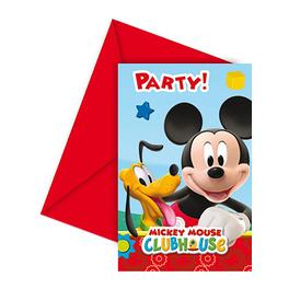 Set de invitaciones Mickey Mouse Clubhouse