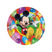 Set de platos grandes Mickey Mouse