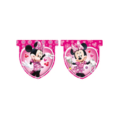 Banderín rosa Minnie Mouse