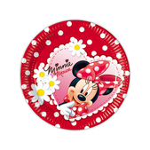 Set de platos de postre Minnie Mouse
