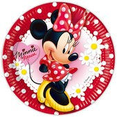 Set de platos grandes Minnie Mouse