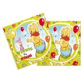Set de servilletas Winnie the Pooh