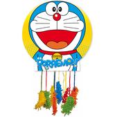 Piñata mediana Doraemon