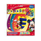 Abecedario Mickey Mouse Clubhouse
