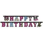 Guirnalda Happy Birthday Monster High
