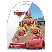 Set de medallas Cars