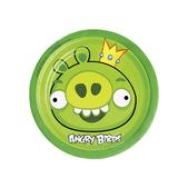 Conjunto de pratos de sobremesa Angry Birds