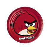 Set de platos grandes Angry Birds