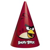 Conjunto de chapéus Angry Birds