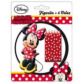 Set de velas Minnie Mouse