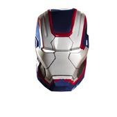 Máscara Iron Patriot para adulto