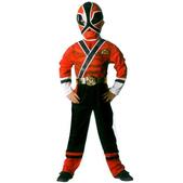 Disfraz de Power Ranger Samurai Rojo Classic para niño